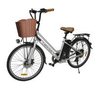 Электровелосипед HIPER Engine B67 (2021) белый/серебристый