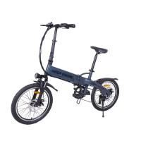 Электровелосипед Hiper Engine BF204 (2021) Blue Metallic