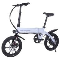 Электровелосипед HIPER Engine BL140 (2021) White