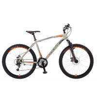 Велосипед Polar WIZARD 2.0 (серебристый-оранжевый) размер L