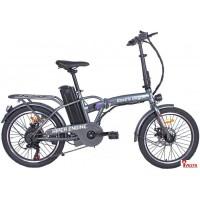 Электровелосипед Hiper Engine BF200 2021 (серебристый)